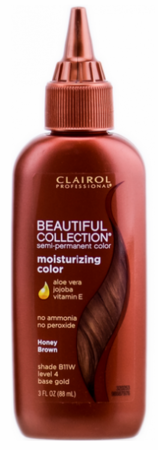 Clairol Professional Beautiful Collection Semi Permanent Hair Color Honey Brown 3 oz