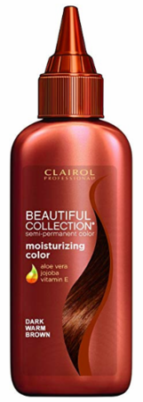 Clairol Professional Beautiful Collection Semi Permanent Hair Color Dark Warm Brown 3 oz