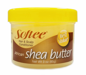 Softee Hair & Scalp Conditioner African Shea Butter 3 oz