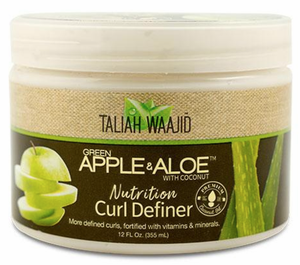 Taliah Waajid Green Apple & Aloe Nutrition Curl Definer 12 oz