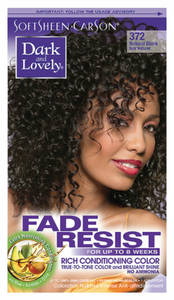 Dark and Lovely Fade Resist Hair Color Natural Black