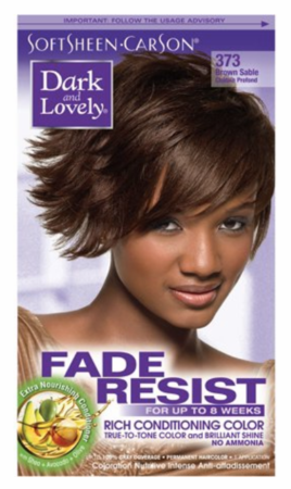 Dark and Lovely Fade Resist Hair Color Brown Sable