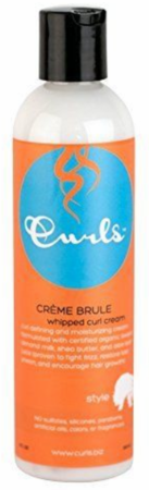 Curls Creme Brule Whipped Curl Cream 8 oz bottle