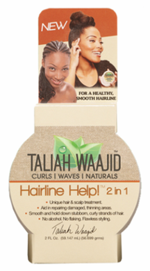 Taliah Waajid Hairline Help! 2 in 1 Unique Hair & Scalp Treatment 2 oz