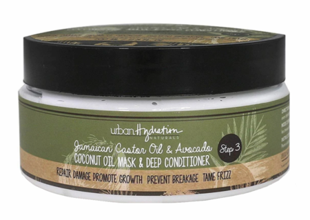 Urban Hydration Jamaican Castor Oil & Avocado Mask & Deep Conditioner 6.8 oz