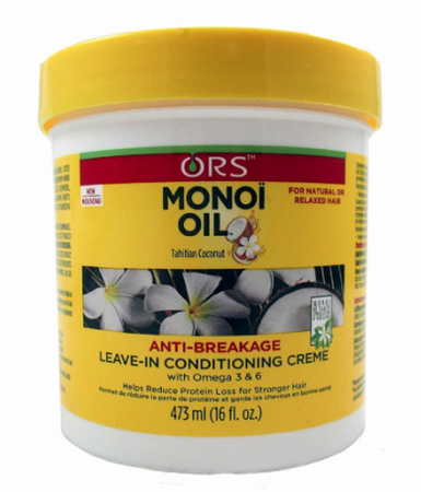 ORS Monoi Oil Anti Breakage Leave In Conditioning Creme 16 oz