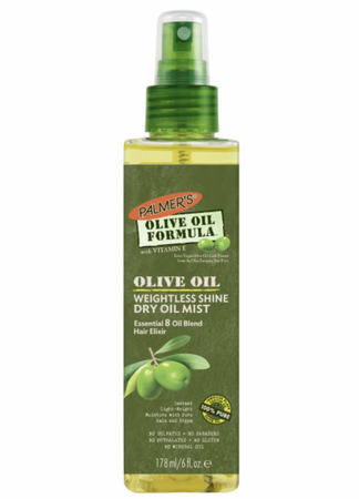 Palmer's Olive Oil Formula Weightless Shine Dry Oil Mist 6 oz