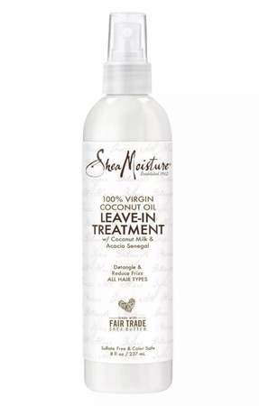 Shea Moisture 100% Extra Virgin Coconut Oil Leave In Treatment 8 oz