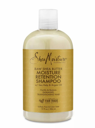 Shea Moisture Raw Shea Butter Moisture Retention Shampoo 13 oz