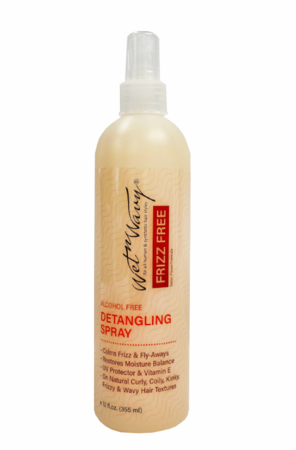 Wet N Wavy Frizz Free Detangling Spray 8 oz