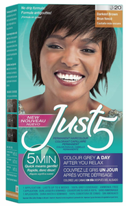 Just 5 5 Min for Women Permanent Hair Color Darkest Brown