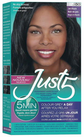 Just 5 5 Min for Women Permanent Hair ColorJet Black