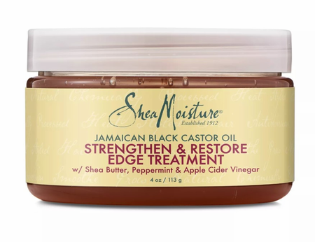 Shea Moisture Jamaican Black Castor Oil Strengthen & Restore Edge Treatment 4 oz