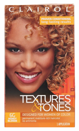 Textures & Tones Permanent Hair Color 6G Honey Blonde