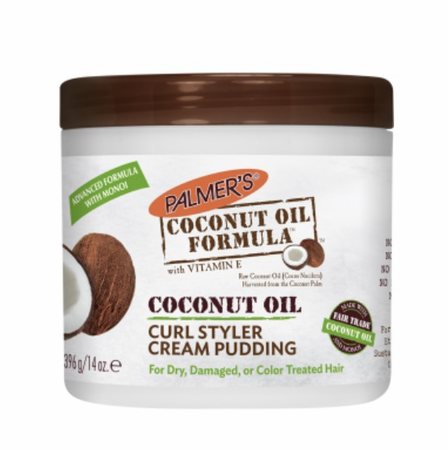 Palmer's Coconut Oil Formula Coconut Oil Curl Styler Cream Pudding 14 oz