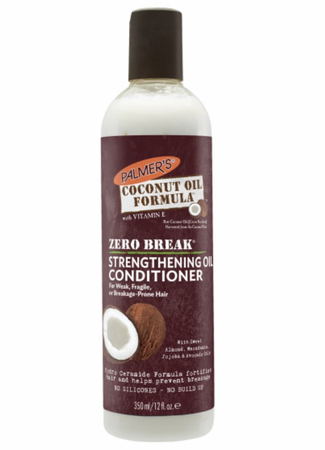 Palmer's Zero Break Coconut Oil Strengthening Oil Conditioner 12 oz