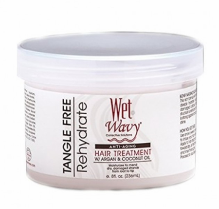 Wet N Wavy Anti Aging Hair Treatment 8 oz