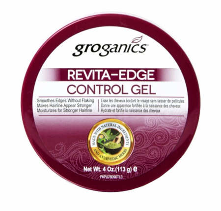Groganics Revita Edge Control Gel 4 oz