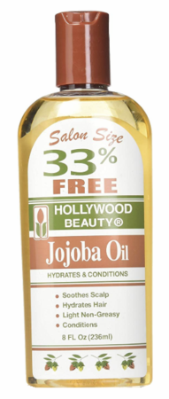 Hollywood Beauty Jojoba Oil Skin & Scalp Treatment 8 oz