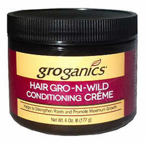 Groganics HairGro N Wild Conditioning Creme 6 oz
