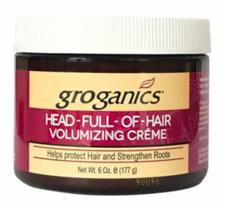 Groganics Head Full Of Hair Volumizing Creme 6 oz
