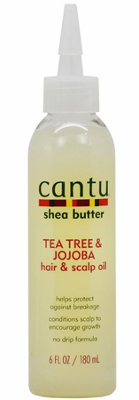 Cantu Shea Butter Tea Tree & Jojoba Hair & Scalp Oil 6 oz