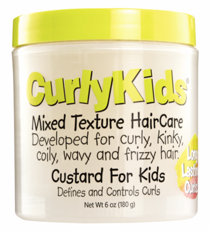 Curly Kids Mixed Hair Haircare Custard 6 oz