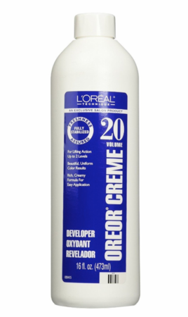 L'Oreal Oreor 20 Volume Creme Developer 16 oz