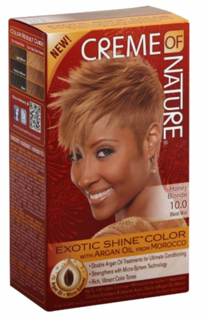 Creme of NATURE Exotic Shine Hair Color Honey Blonde 10.0