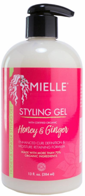 MielleOrganics Honey & Ginger Styling Gel 13 oz