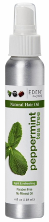Eden BodyWorks Peppermint Tea Tree Hair Oil 4 oz