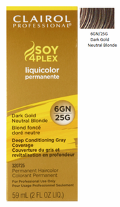 Clairol Professional Soy4Plex Permanent Haircolor Dark Gold Neutral Blonde