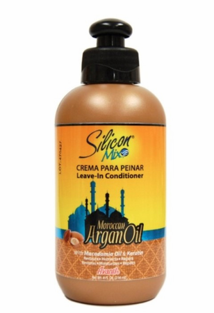 Silicon Mix Moroccan Argan Oil Leave In Conditioner 8 oz