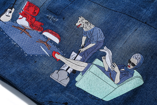 Sir Dandy Denim Shopper Bag