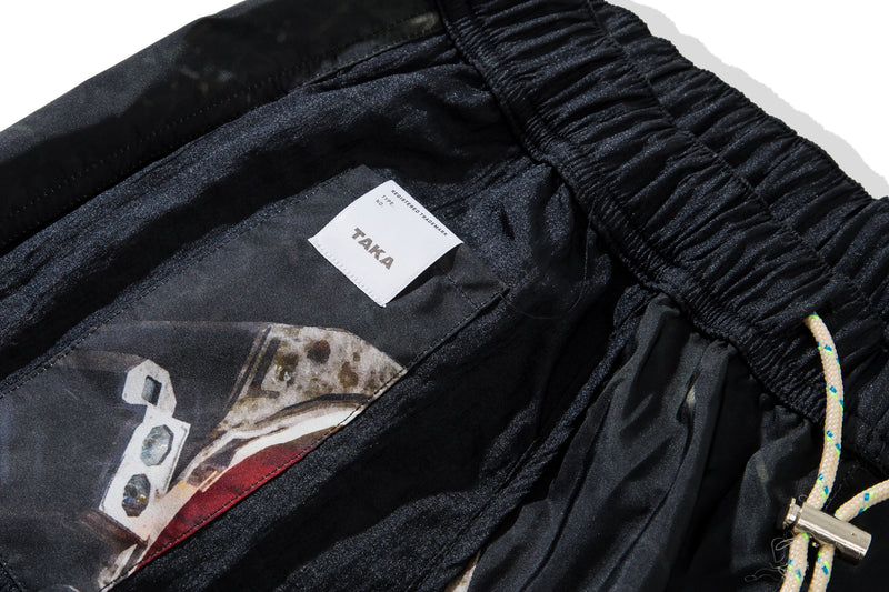 "Shorts Buggy Nylon Shorts X Vngnc ""Astrophelia Black"