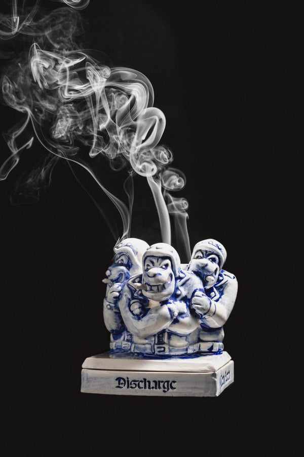 Incense Burner Thrive Motors X Ican Harem Discharge White