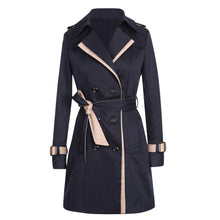 Load image into Gallery viewer, 2020 Autumn Winter Trench Coats Women Slim Double Breasted Ladies Trench Coat Long Women Windbreakers Plus Size Overcoat Femmino