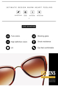 2020 Fashion Cat Eye Sunglasses Women Brand Design Vintage Female Glasses Retro Cateye Sun Glasses For Women Oculos De Sol UV400