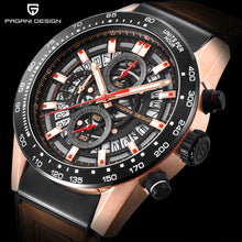 Load image into Gallery viewer, 2019 New PAGANI DESIGN Top Luxury Brand Sports Chronograph Men's Watches Waterproof Quartz Watches Clock Relogios Masculino saat