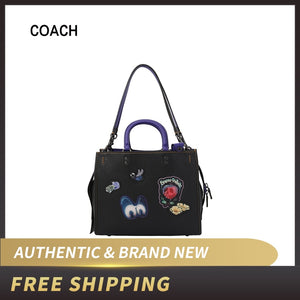 COACH Leather Satchel Tote Bag32793/46811