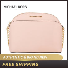 Load image into Gallery viewer, Authentic Original & Brand new Michael Kors Saffiano Leather Emmy Medium Crossbody Women's Bag 35H7GY3C2L/35T8GY3C2A/35S9GTVC2L