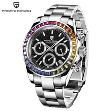 Load image into Gallery viewer, PAGANI Design Mens Chronograph Watch Stylish Sport Quartz Clock Brand Luxury Business Waterproof Watch Relogio Masculino