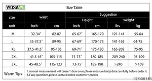 WOSAWE Men Padded Baggy Cycling Shorts Reflective MTB Mountain Bike Bicycle Riding Trousers Water Resistant Loose Fit Shorts