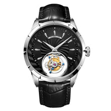 Load image into Gallery viewer, 100% Tourbillon Watch men GUANQIN watch Skeleton mechanical Sapphire Mens Watches Top Brand Luxury clock men Relogio Masculino