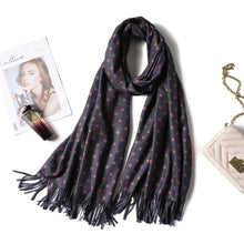 Load image into Gallery viewer, 2020 Winter Women Scarf Fashion Solid Soft Cashmere Scarves for Lady Pashmina Shawls Wrap Blanket Bandana Female Foulard Tassel