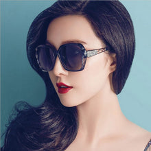 Load image into Gallery viewer, Fashion Square Sunglasses Women Luxury Brand Big Purple Sun Glasses Female Mirror Shades Ladies Oculos De Sol Feminino