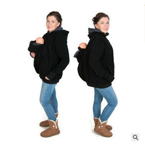 New 2020 Thickened Pregnancy wool babywearing Maternity Hoodies Baby Carrier Jacket Kangaroo Outerwear Hoodies &Sweatshirts Coat