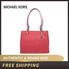 Load image into Gallery viewer, Michael Kors Large Leather Soffiano Tote Bag Sofial Large Handbags 35F8GO5T3L/35F8GO5T9L/35H8GO5T3L/35F9GO5T3B