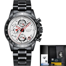 Load image into Gallery viewer, New Watch Men 2020 LIGE Fashion Mens Watches Top Brand Luxury Business Waterproof Clock Male Full Steel Sport Quartz Chronograph
