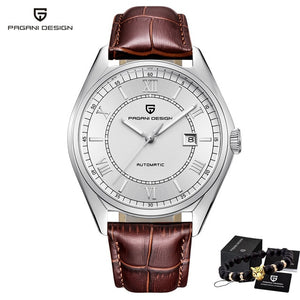 PAGANI Men's Mechanical Watches 2020 Top Brand Luxury Watch Men Automatic Leather Watch Men Waterproof Clock Relogio Masculino